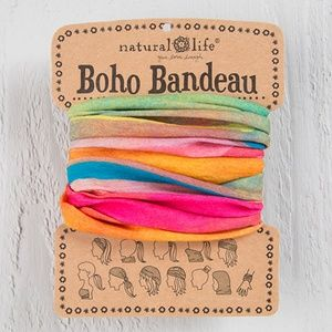 NATURAL LIFE Accessories - Rainbow Boho Bandeau